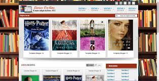 template para blog de livros online baixar template para blogger