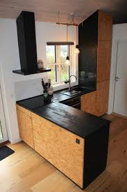 osb kitchen in my summerhouse in denmark based on a standard ikea