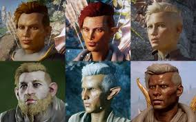 agerd hair styles assorted hairstyles at dragon age inquisition nexus mods and