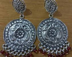 Buy Tribal German Silver Jhumka German Silver Jhumka Etsy