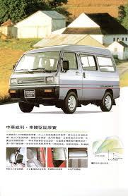 mitsubishi china 1991 mitsubishi varica brochure