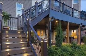 Walkout Basement Deck Designs