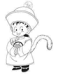 dragon ball character yamcha coloring u0026 coloring pages