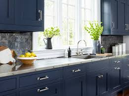navy blue kitchen cabinet design navy kitchen ideas photos houzz