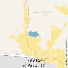 el paso zip code map best places to live in el paso zip 79911