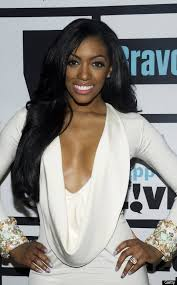porshe steward on the housewives of atlanta show hairline porsha stewart searches for love on the steve harvey show huffpost
