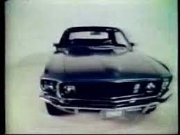 ford mustang ad 1969 ford mustang commercial