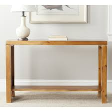 Sofa Table Oak by Amazon Com Safavieh American Home Collection Lahoma Pecan