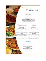 menu template 30 restaurant menu templates designs template lab