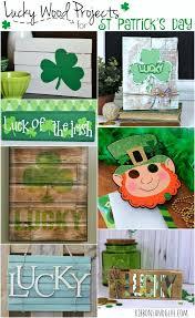 69 best st patrick u0027s day wood blocks images on pinterest wood