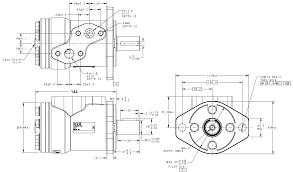 orbital hydraulic engine omp 50 cm3