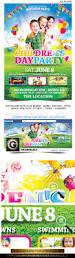 children u0027s or kids party flyer facebook template by grandelelo