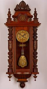 antique gustav becker pendulum wall clock approx 1900 zegary