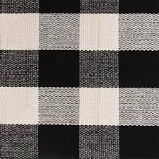 Checkered Area Rug Black And White by Amazon Com Pragoo Cotton Rug Hand Woven Checkered Carpet Braided