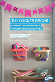 DIY Locker Decor Ideas Exciting Back to School DIYs for Kids