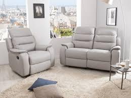 canapé cuir gris clair canapé cuir authenticité et design dans votre salon