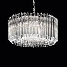 White Murano Chandelier by