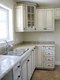 Kitchen Glazed Cabinets Glazed Cabinet Doors Kitchen Traditional With Cabinets Contrast
