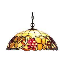 Stained Glass Light Fixtures Stained Glass Hanging Lamps Ebay