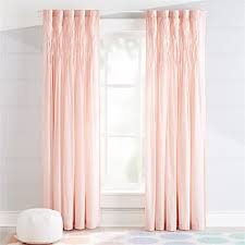 Blush Pink Curtains Curtains Hardware Bedroom Nursery Crate And Barrel