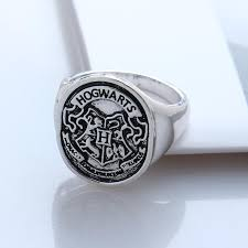 Harry Potter Wedding Rings by Harry Potter Hogwarts Ring