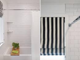 black and white striped l shade new striped linen roman shades black white designer rm coco within