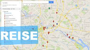 Giigle Maps Reiseplanung Ganz Einfach Mit Google Maps Und Dem Handy Youtube