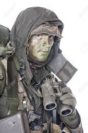 jagdkommando soldier austrian special forces equipped with assault