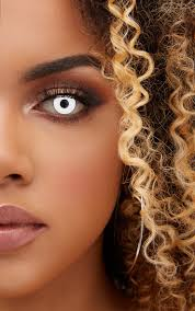 halloween white zombie daily contact lenses beauty