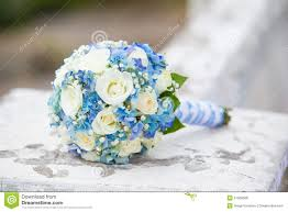 wedding flowers blue and white wedding flowers stock photo image 51269566