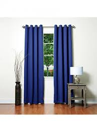 solid grommet thermal insulated blackout curtains 104 intended for
