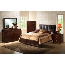 weber sleigh wood bed with leather headboard dcg stores