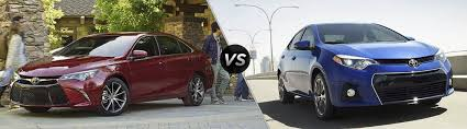 toyota yaris vs corolla comparison how big is the toyota camry compared to the corolla