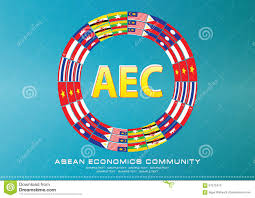 aec or asean or info graphic south east asian design element stock