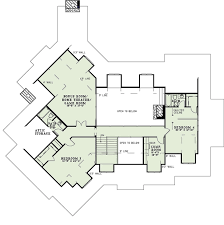 home theater floor plans craftsman style house plan 5 beds 5 50 baths 4501 sq ft plan 17