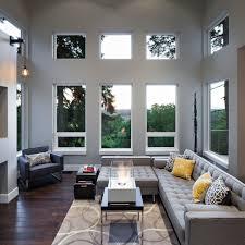 Rustic Modern Living Room by Living Room Oak Flooring Rustic Contemporary Living Room Modern