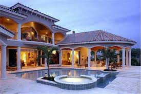 mediterranean house plans with pool 5 bedrm 6780 sq ft mediterranean house plan 175 1073