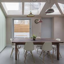 simon astridge adds dusty pink concrete extension to north london