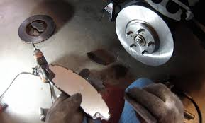 replace acura mdx front brake pads rotors 2007 2013 youtube