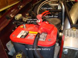 Ford F350 Truck Length - battery and alternator wire upgrade ford truck enthusiasts forums