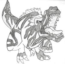 fossil fighters t rex by wingedkobrathethird on deviantart