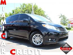2015 used toyota sienna limited at miami car credit llc serving