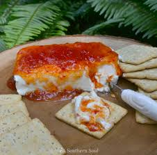 cuisine appetizer pepper jelly cheese appetizer a southern soul