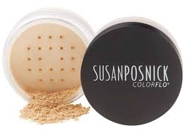 colorflo loose mineral foundation susan posnick cosmetics