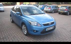 ford focus 2 0 duratec review 2009 ford focus 1 6 zetec start up vehicle tour and