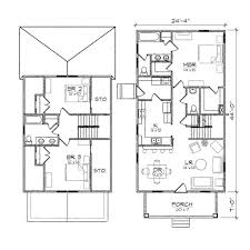 small house plans with garage attached apartment bungalow by