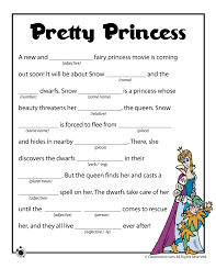 summer mad libs pretty princess mad libs u2013 classroom jr be my