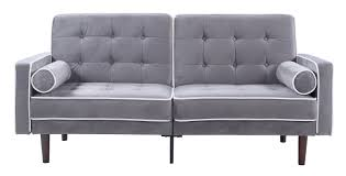 Mid Century Modern Patio Furniture Madison Home Usa Mid Century Modern Convertible Sofa U0026 Reviews