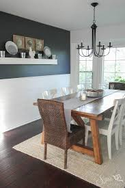 dining room makeover pictures farmhouse table and dining room makeover hale navy farmhouse