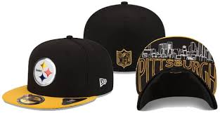 check out what the steelers 2015 draft hats look like